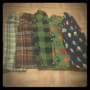 bundle pajama bottoms size 4t